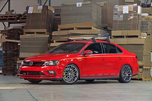 Volkswagen Displays MOMO Tuned Jetta GLI At SEMA Ancira Volkswagen - Vw car show las vegas